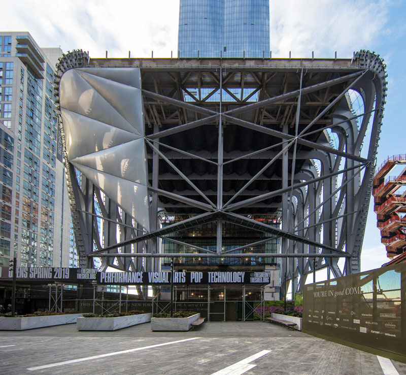 Shed's Bloomberg Building