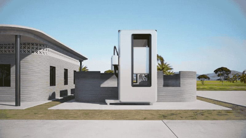stampa 3D edifici