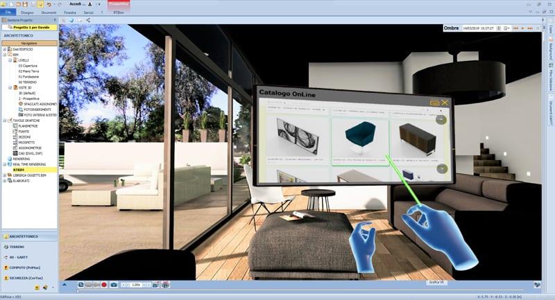 realtà virtuale immersiva in architettura