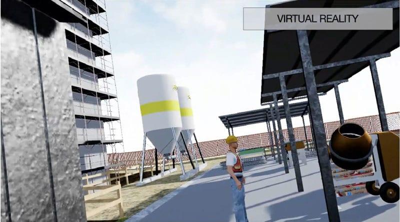 realtà virtuale per la sicurezza cantieri