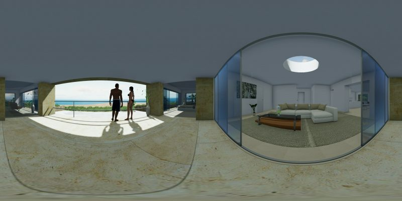 rendering fotorealistico _100InfinityHouse_360