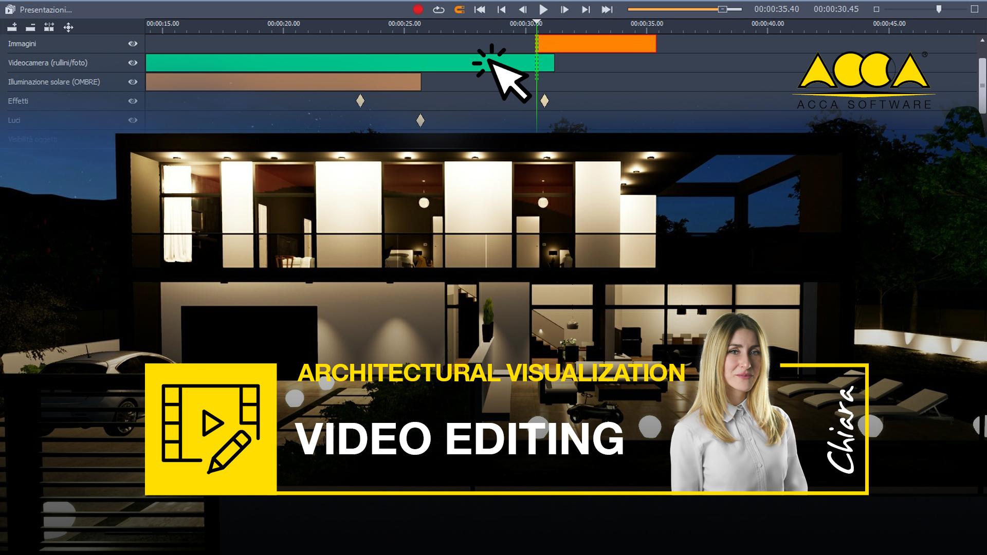 video editing nella progettazione