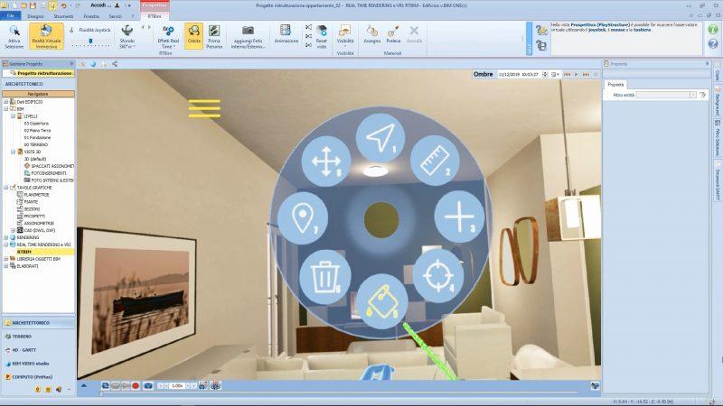 scegliere i colori per le pareti con la realtà virtuale