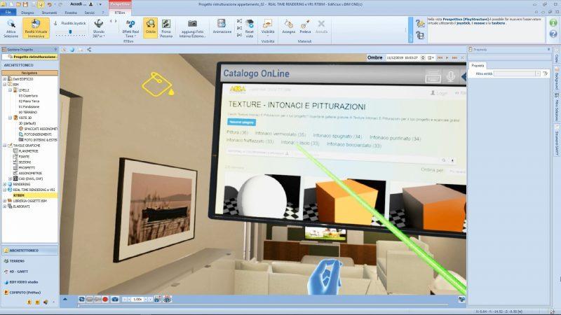 progettazione degli interni con la realtà virtuale - la scelta dei colori