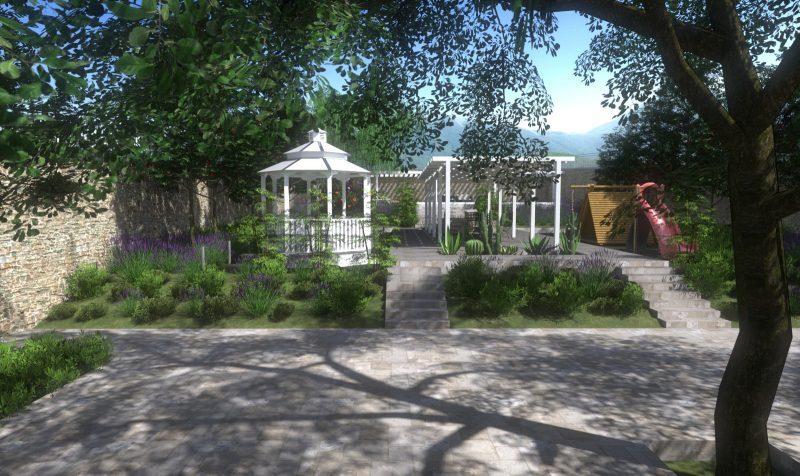 come progettare un giardino schemi immagini ed esempi da