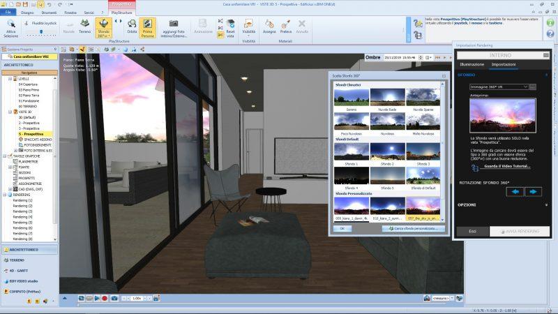 tecnica di illuminazioneIBL - Render con sfondo IBL