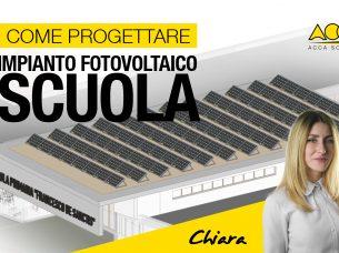 come progettare un impianto fotovoltaico