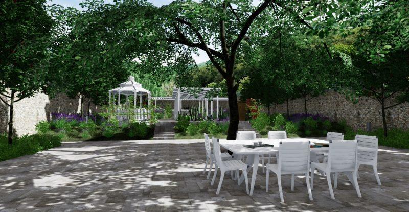 realtà virtuale nella progettazione di un giardino - Progetto-giardino