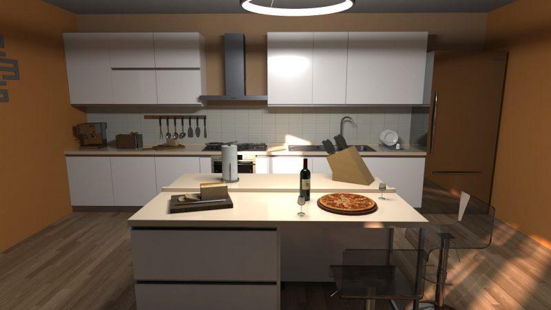 come progettare una cucina con la realtà virtuale