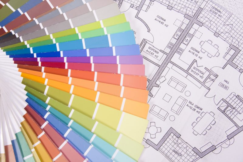 scegliere i colori per le pareti - con-la-vr