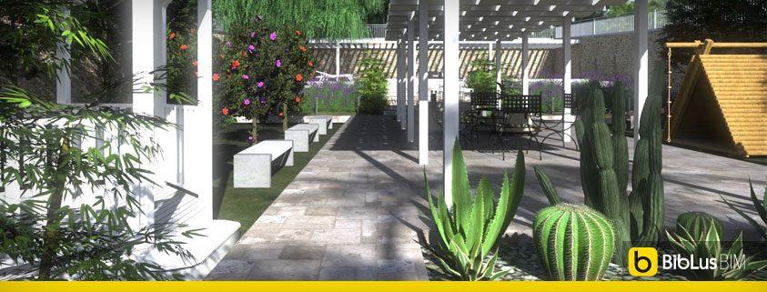Tavoli Da Giardino Dwg.Come Progettare Un Giardino Schemi Immagini Ed Esempi Da