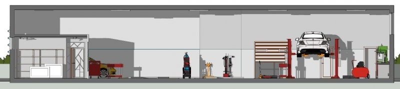 progettare un officina meccanica