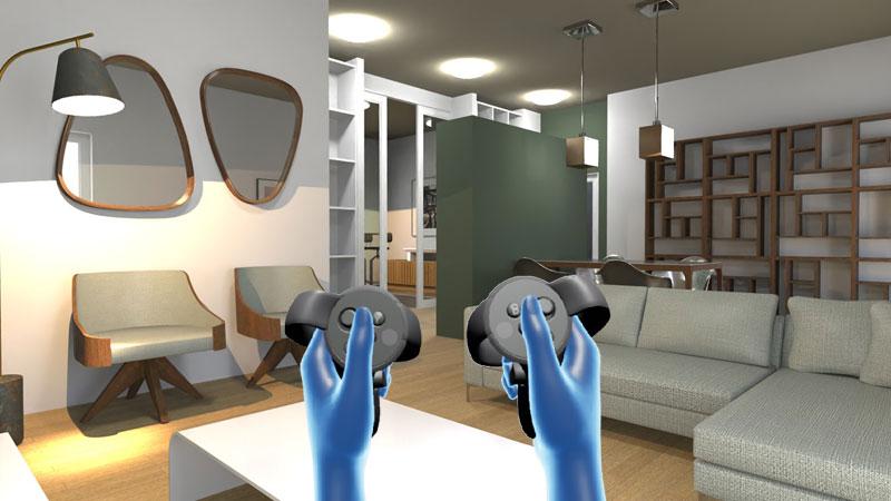 esempio di ristrutturazione con la realtà virtuale-Navigazione-del-modello