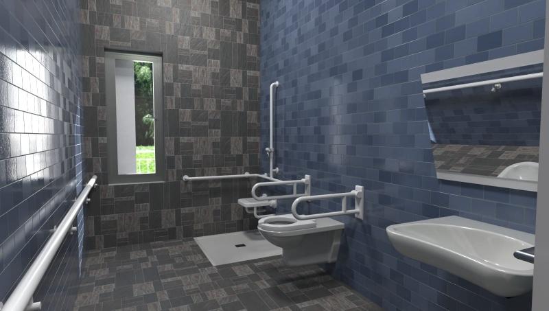 eliminazione barriere architettoniche bagno