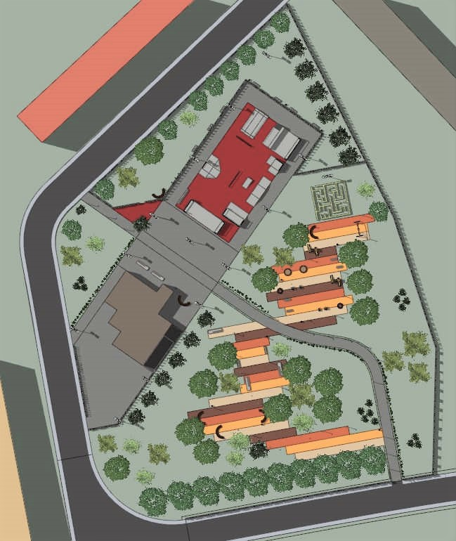 progettare un parco urbano
