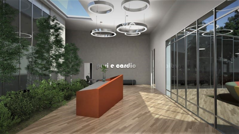 Come progettare una palestra: Reception