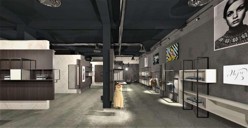 Progettare un negozio di abbigliamento