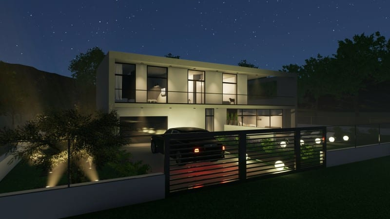 progetto casa unifamiliare