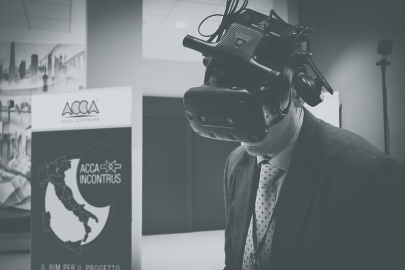 demo di VRIBIM realtà virtuale immersiva
