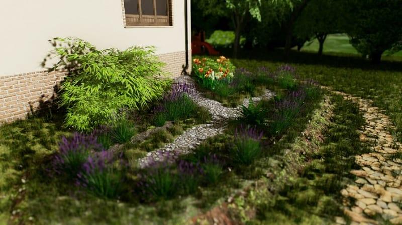 Progettazione di un rain garden semplificato