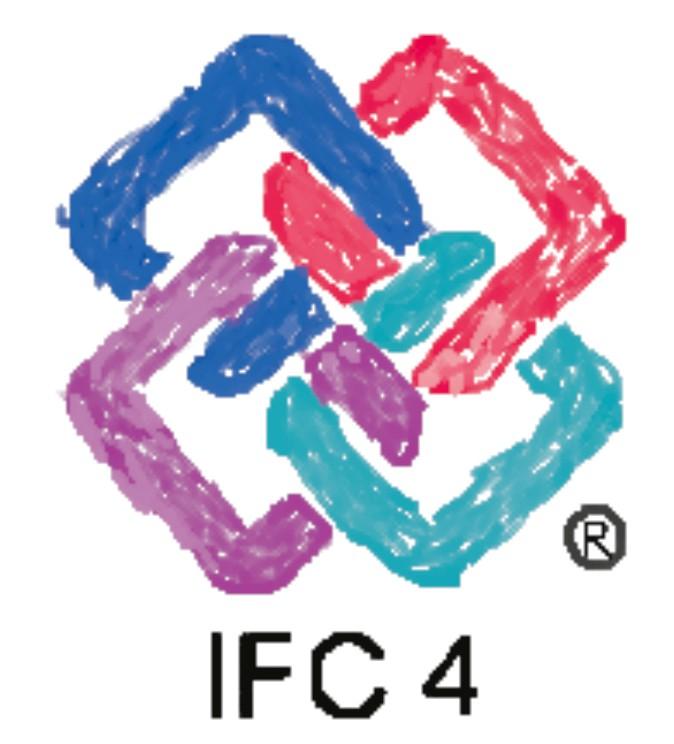 Immagine che raffigura il logo dell'IFC 4