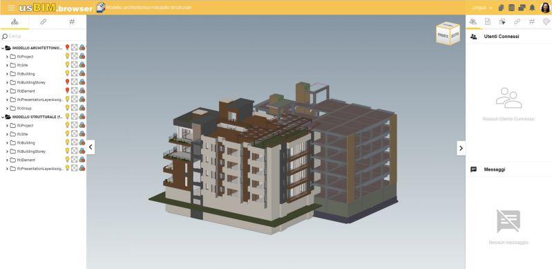 Federazione modelli con usBIM.platform ONE