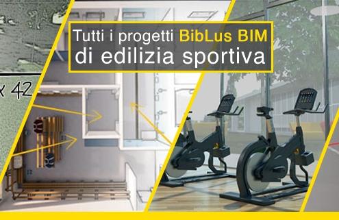 BibLus-BIM progetti di edilizia sportiva