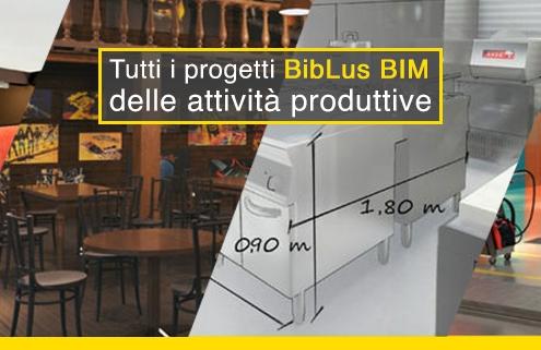 progetti attività produttive - biblus bim