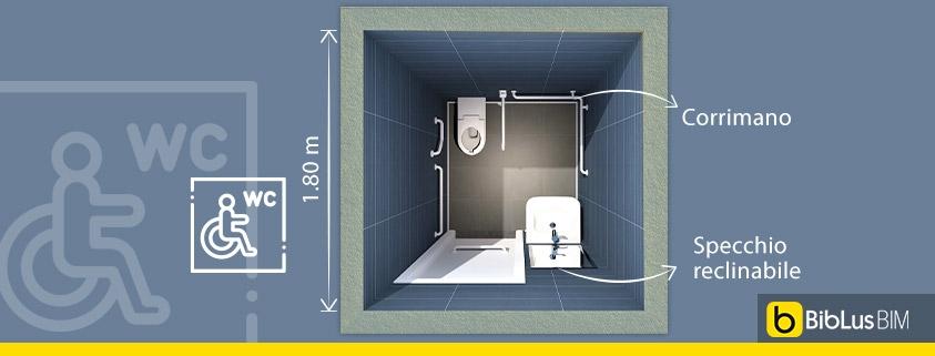 progettare un bagno per disabili