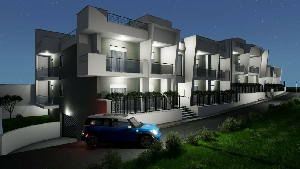 EdificiusUX - Render del complesso residenziale realizzato con Edifcius