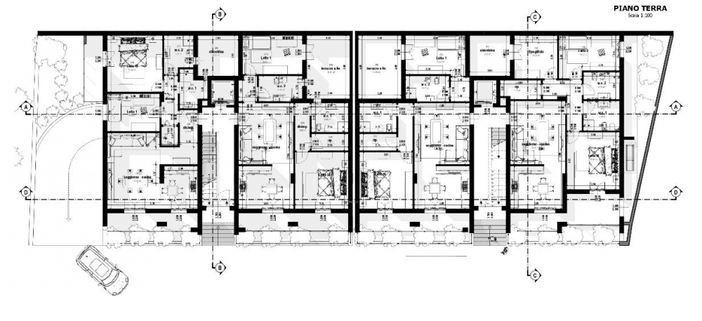 Pianta Piano Terra - realizzata con Edifcius