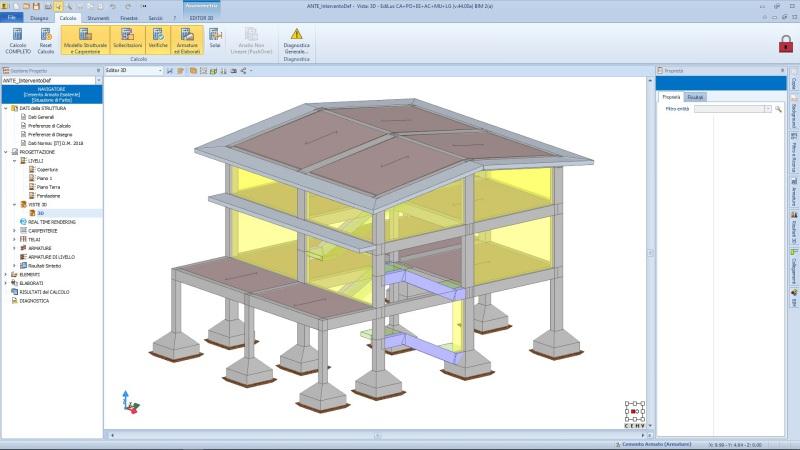 come modellare lo stato di fatto per il progetto di Sismabonus 110