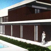 progetto di Casa Roncero modellato con un software BIM Edificius