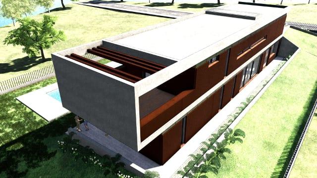 Dettaglio terrazza - Casa Roncero