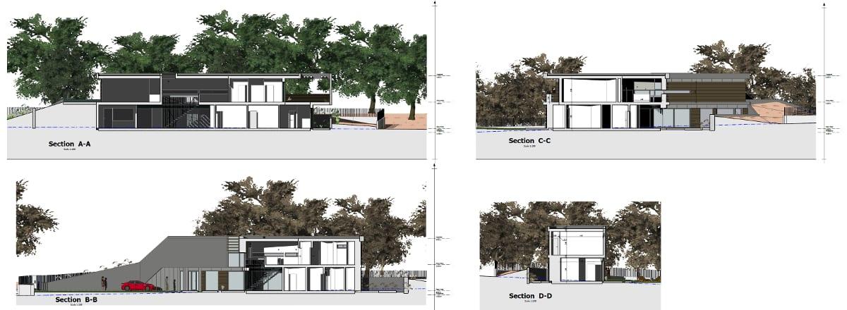 Sezioni - Casa Roncero