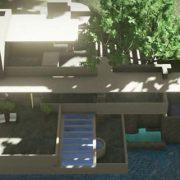 Casa sulla cascata Edificius BIM