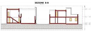 Case a schiera di architetti famosi Quartiere-Malagueira-di-Alvaro-Siza-sezione-B-B