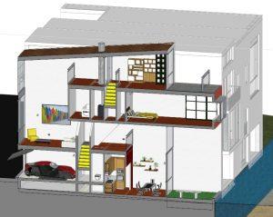 Livelli-di-case-a-schiera-spaccato-assonometrico-dal-progetto-Borneo-Sporenburg-Amsterdam
