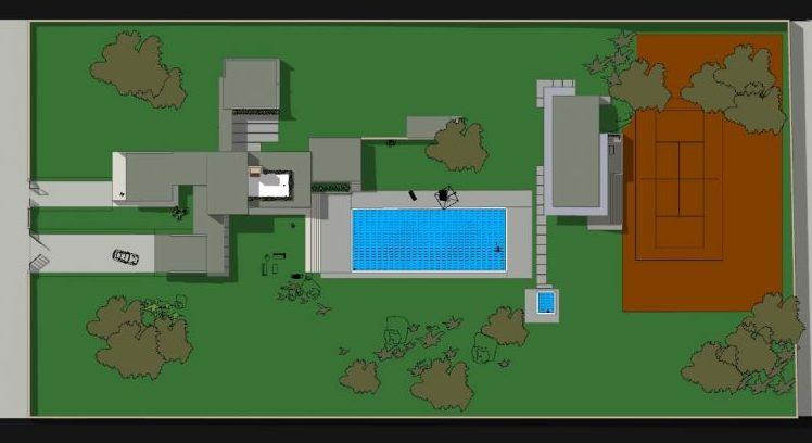 casa unifamiliare casa-Kaufmann-planimetria