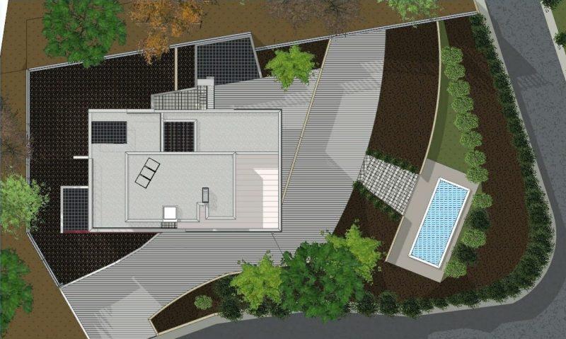 progetti di case unifamiliari planimetria