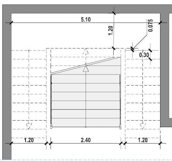 Progettazione scale interne-Scala a tenaglia