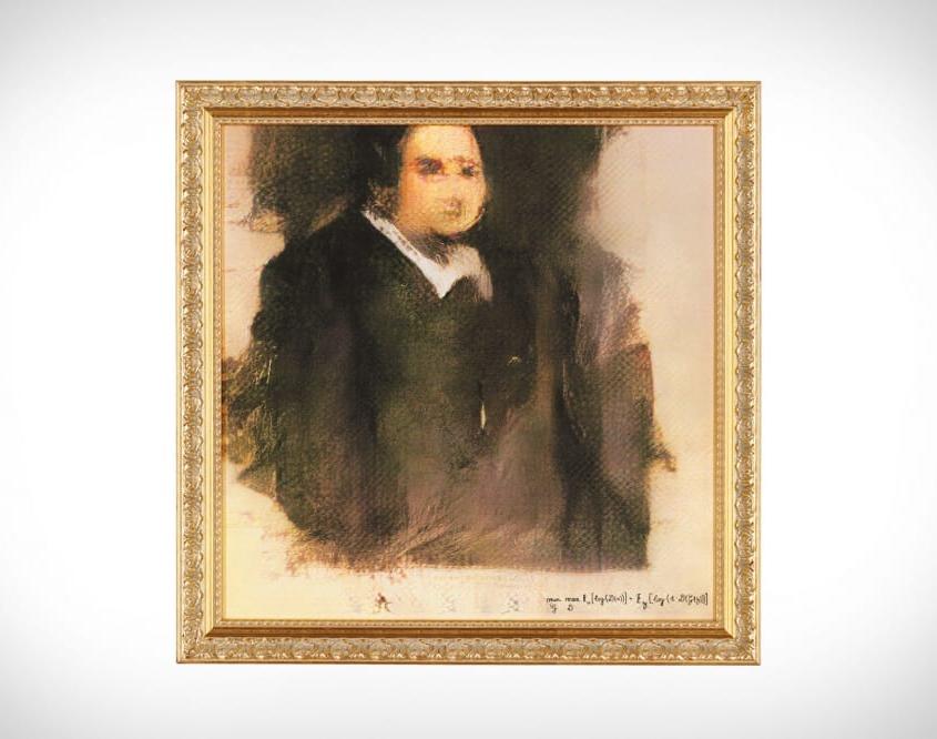 Ritratto di Edmond Belamy