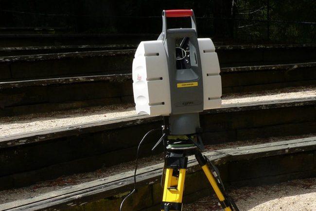 rilievi degli edifici _ laser scanner