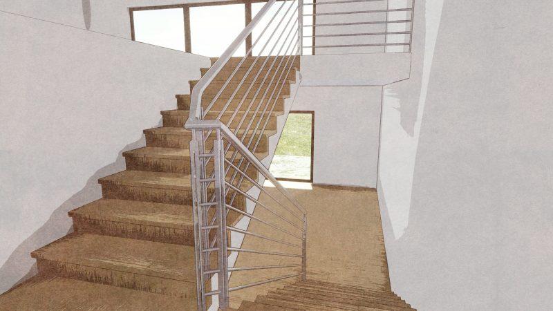 progettazione scale interne