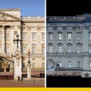 Buckingham palace restauro