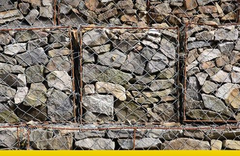 muri di sostegno a gabbioni