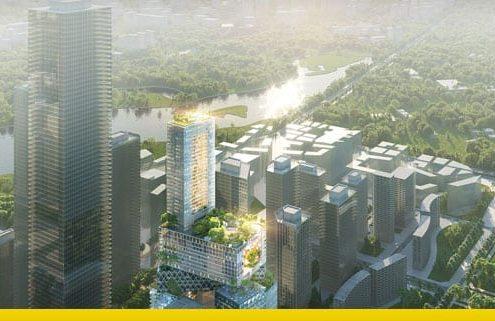 vanke 3D city mvrdv shenzen
