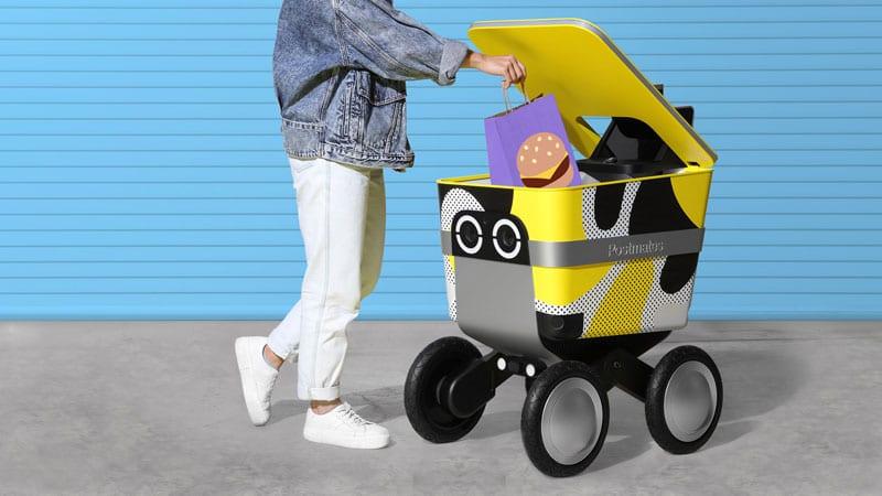 robot consegne domicilio