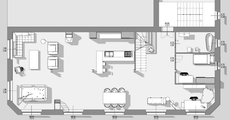 Progetto Di Un Loft Guida Tecnica Con Esempi Dwg Biblus Bim