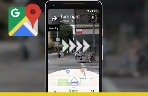 realta aumentata google maps